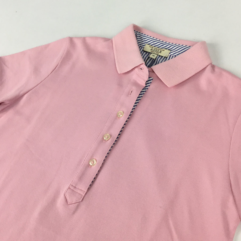 AIGLE Pink Polo Shirt
