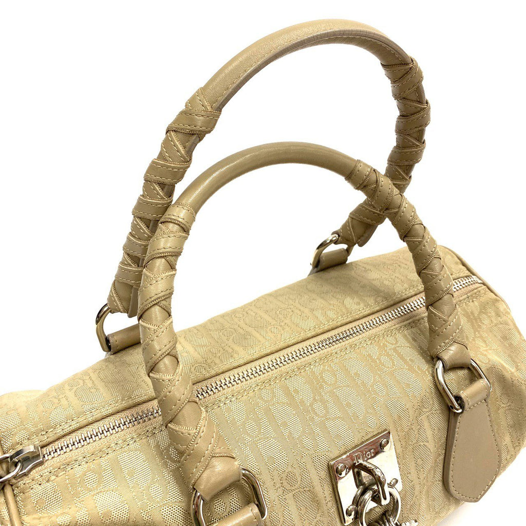 Dior Canvas and leather Diorissmo bowling bag