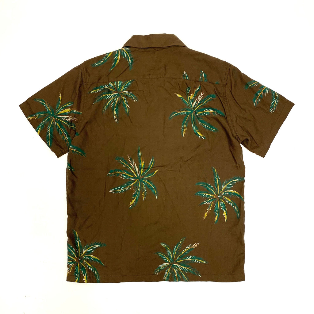 Wacko Maria Aloha Shirts (Brown Color)