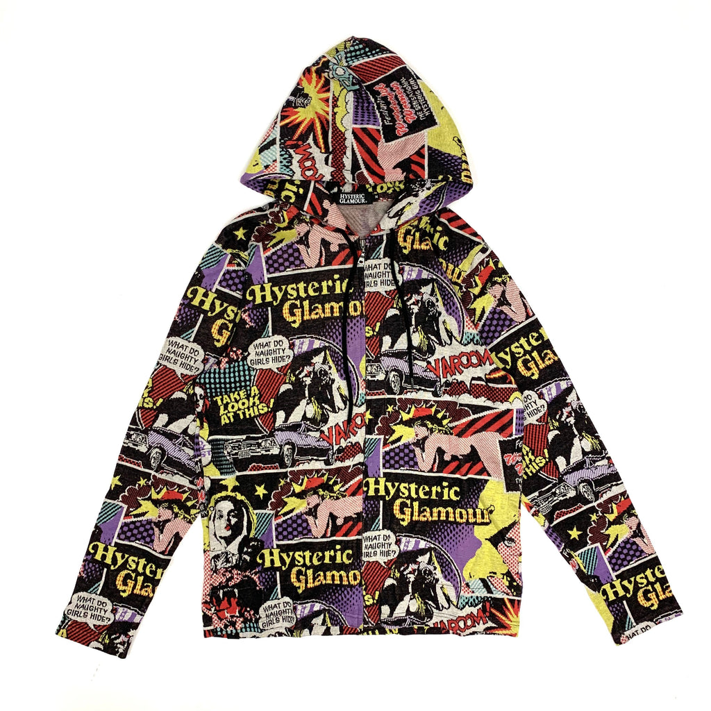 Hysteric Glamour Zip up Hoodie