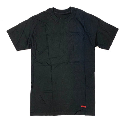 Supreme X Hanes Tee (Black Color)