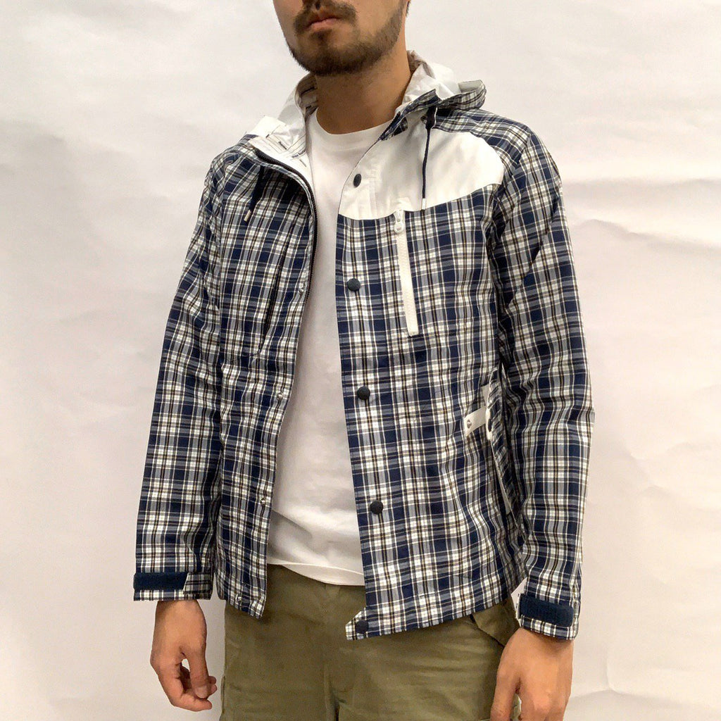 White Mountaineering Windbreaker (Check Patten)