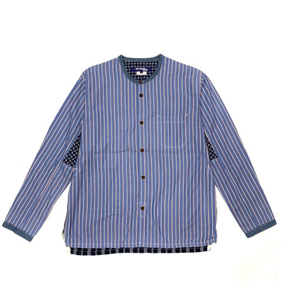 Junya Watanabe Collar Shirt (Blue Color)