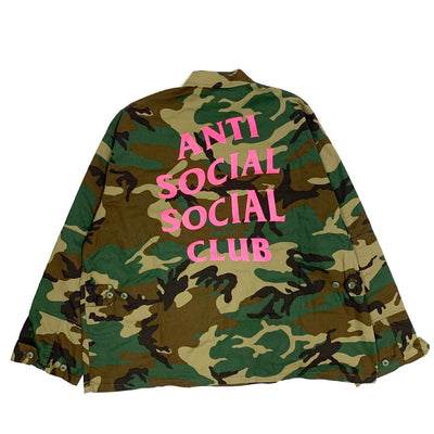 Anti Social Social Club Camo M-65 Jacket