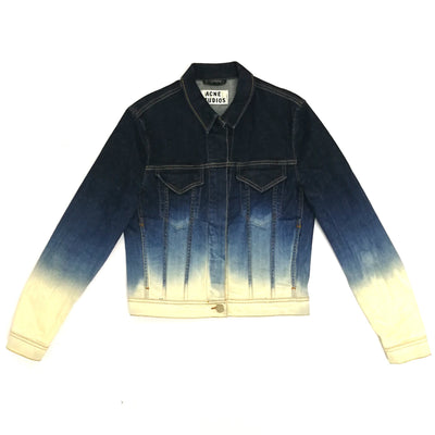 Acne Studios tie-dye denim jacket