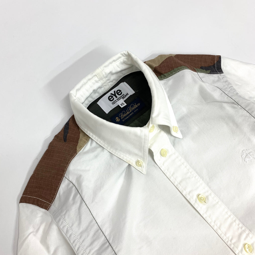 Junya Watanabe x Brook Brothers Shirt (White Color)