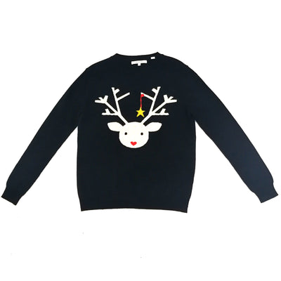 Chianti & Parker deer knitted sweater