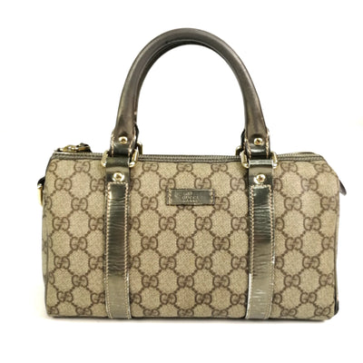 Gucci monogram vintage top handle bag