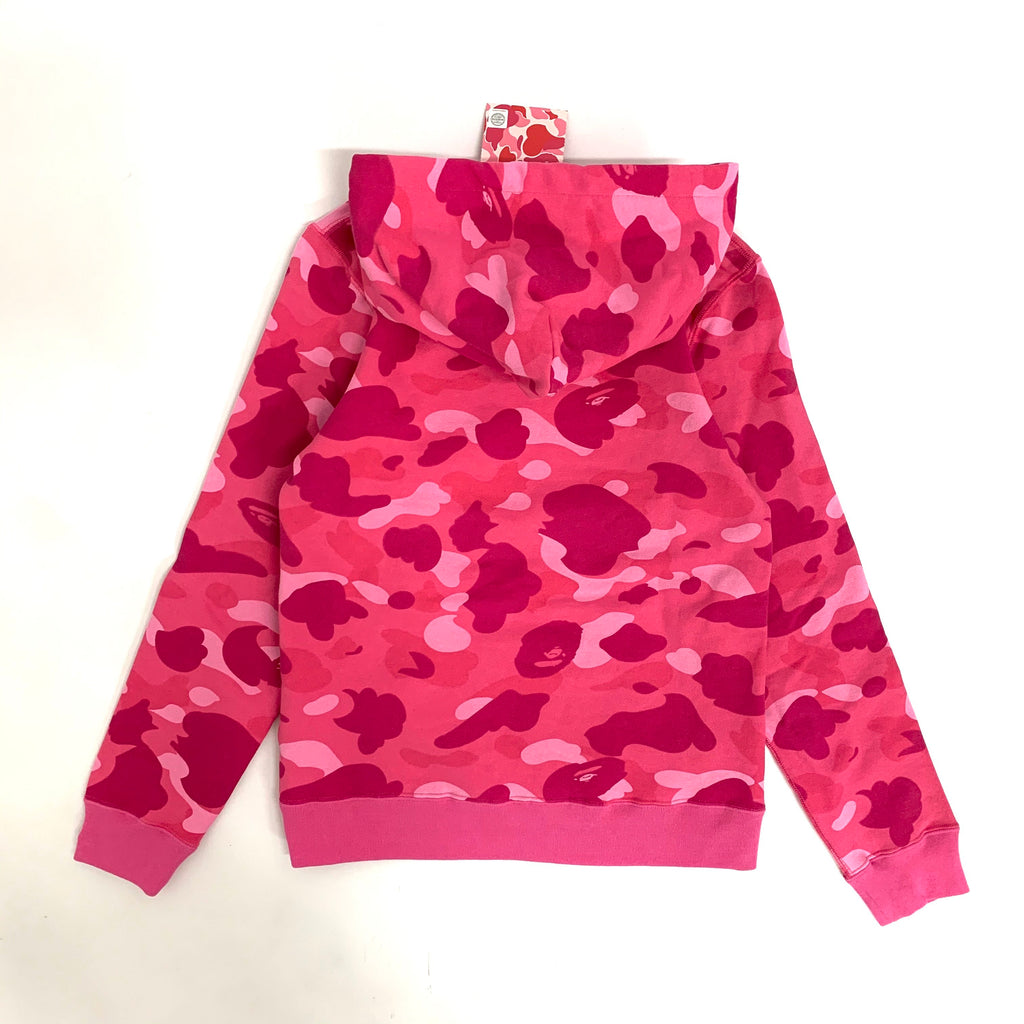 A Bathing Ape Camo Hoodie (Pink Color)