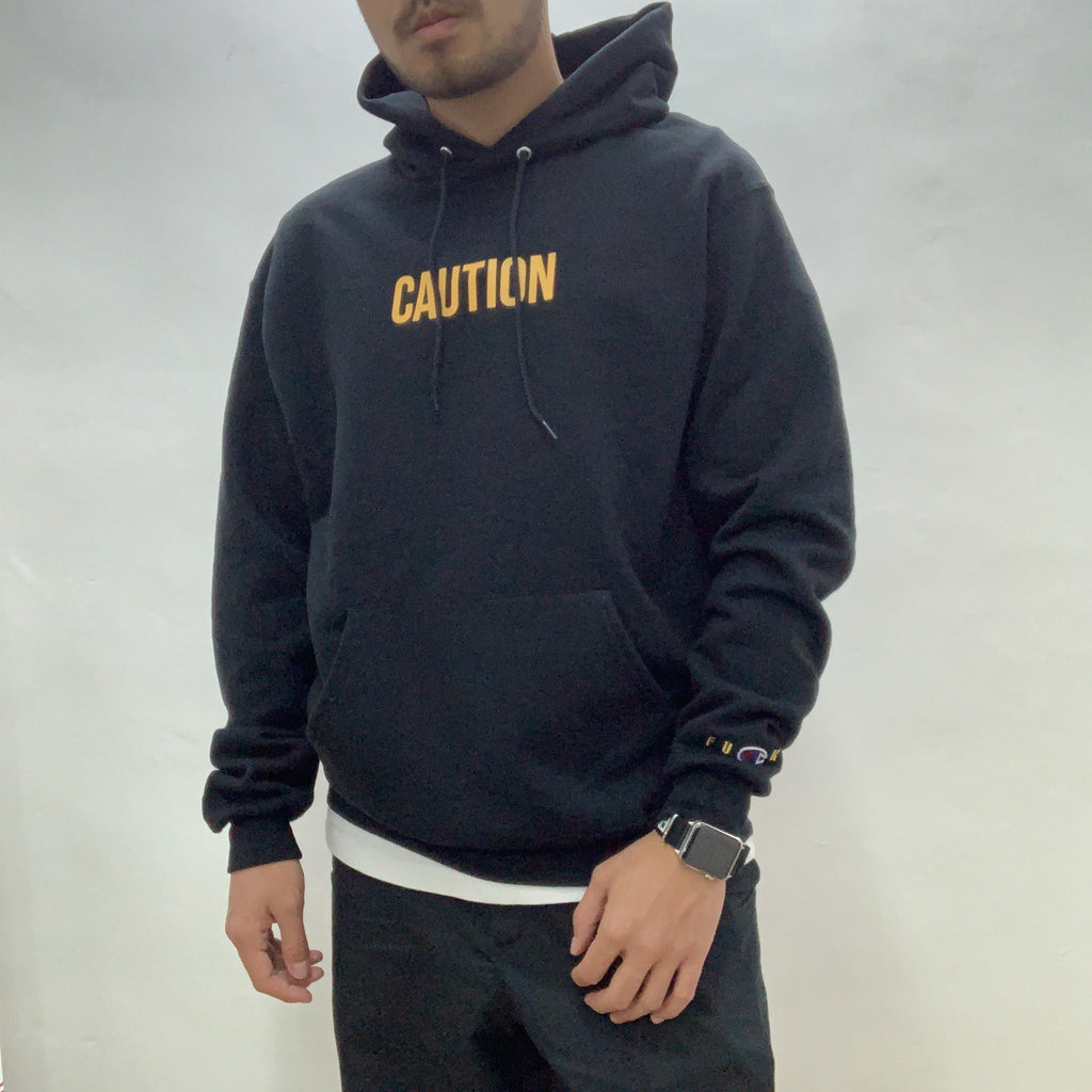 "Fucking Rabbit FR2 x Champion ""Caution"" Hoodie"