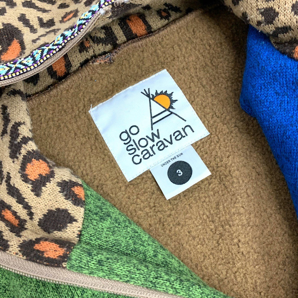 go slow caravan Fleece Jacket