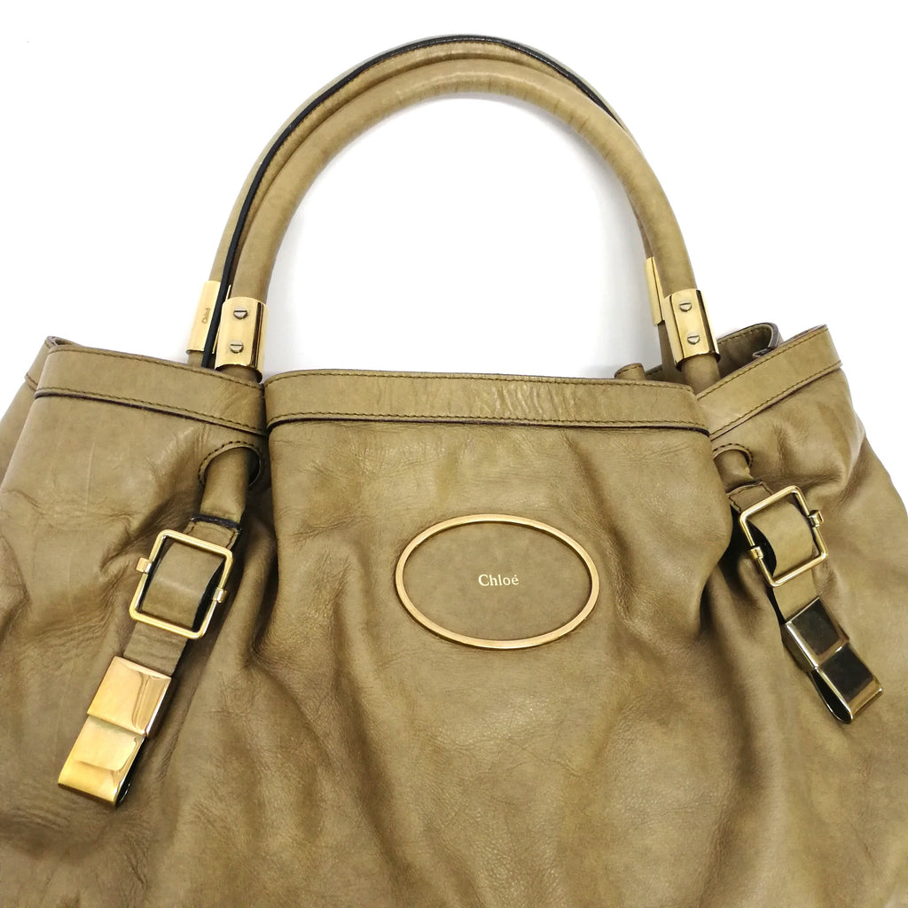 Victoria Victoria leather tote