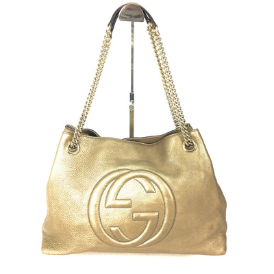 Gucci Soho Chain Leather tote