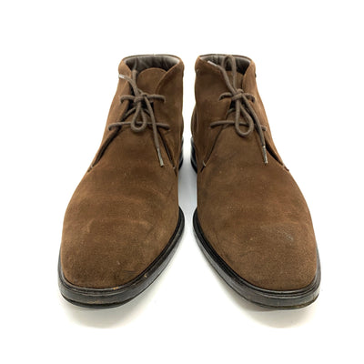 Tod's Polacco George brown suede chukka boots