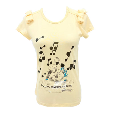 See by Chloe yellow tee