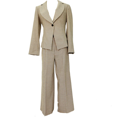 Pennyblack dogtooth suit blazer and pants set