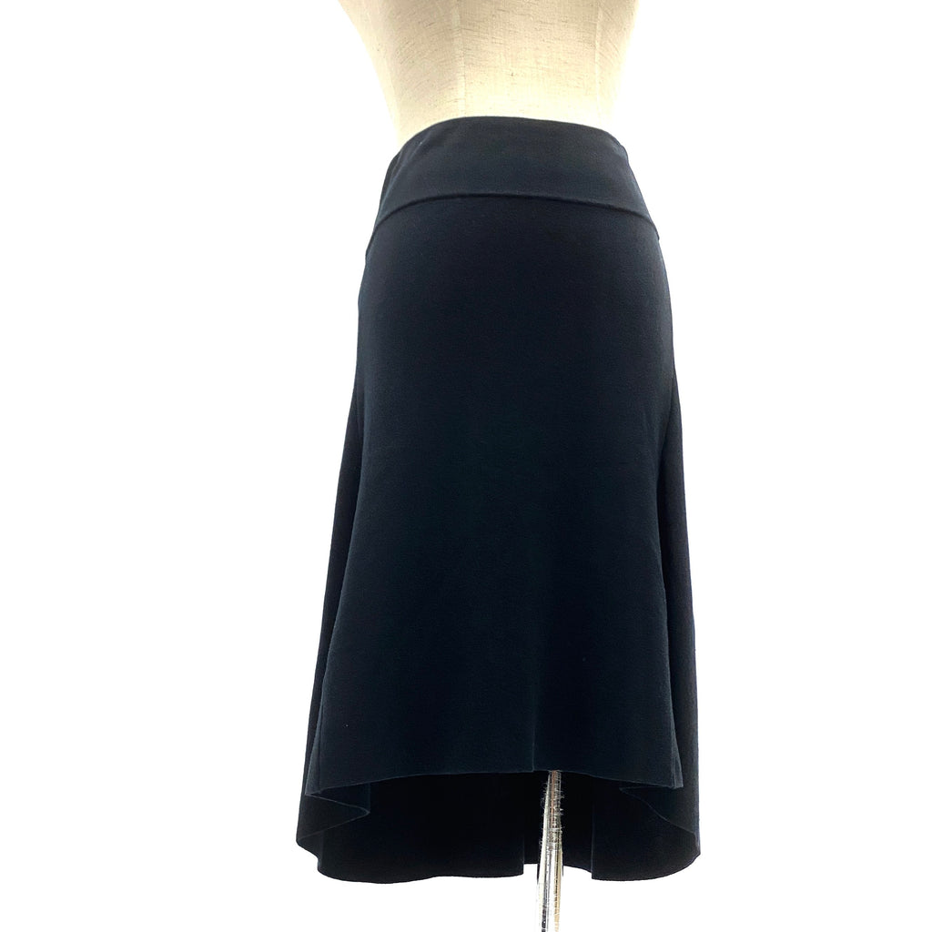 Anteprima black knit skirt