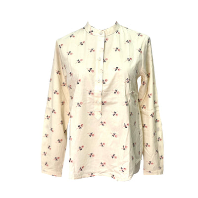 Max & Co. floral pattern round neck blouse