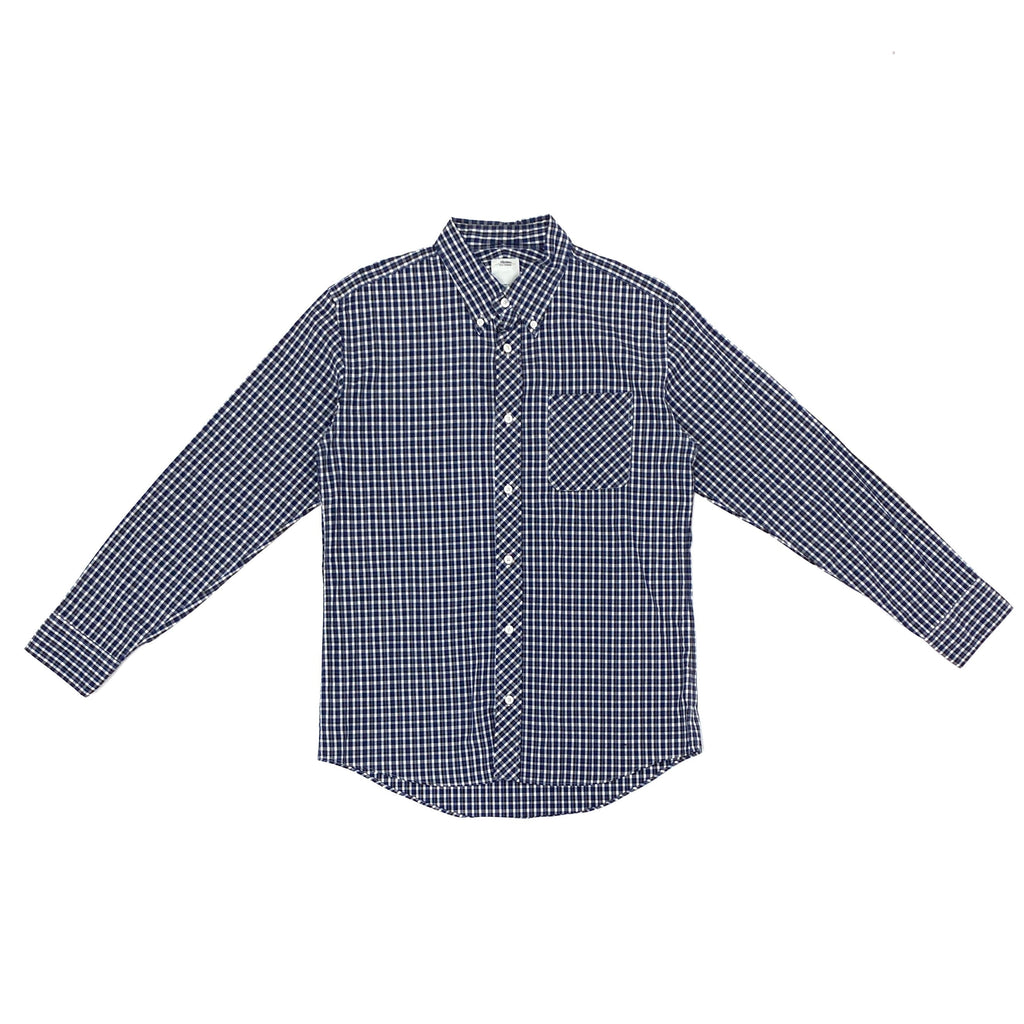 Visvim Check Shirt (Blue Color with Pocket)