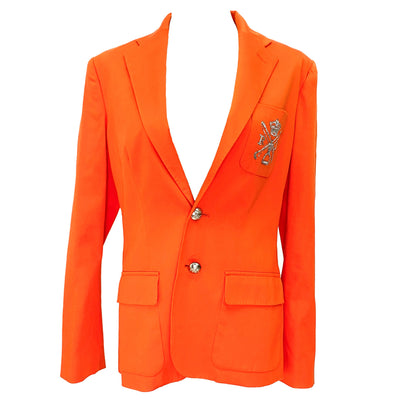 Ralph Lauren orange blazer