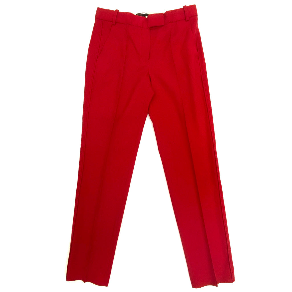 Maje wool blended red pants