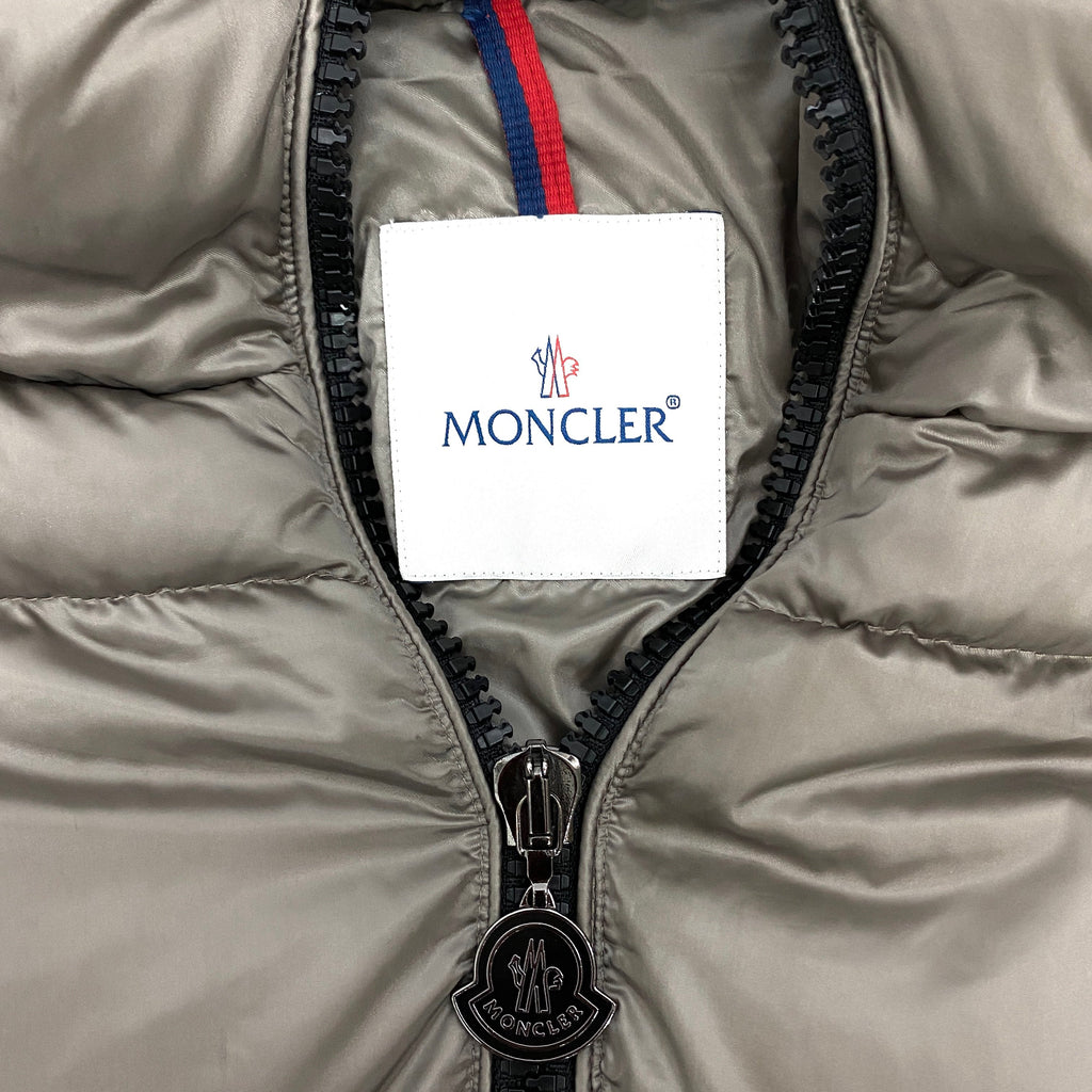 Moncler zip-up puffer down jacket