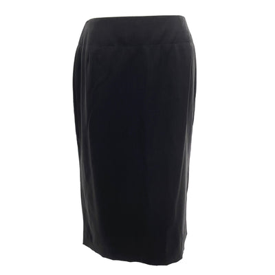Hugo Boss black skirt with side splits