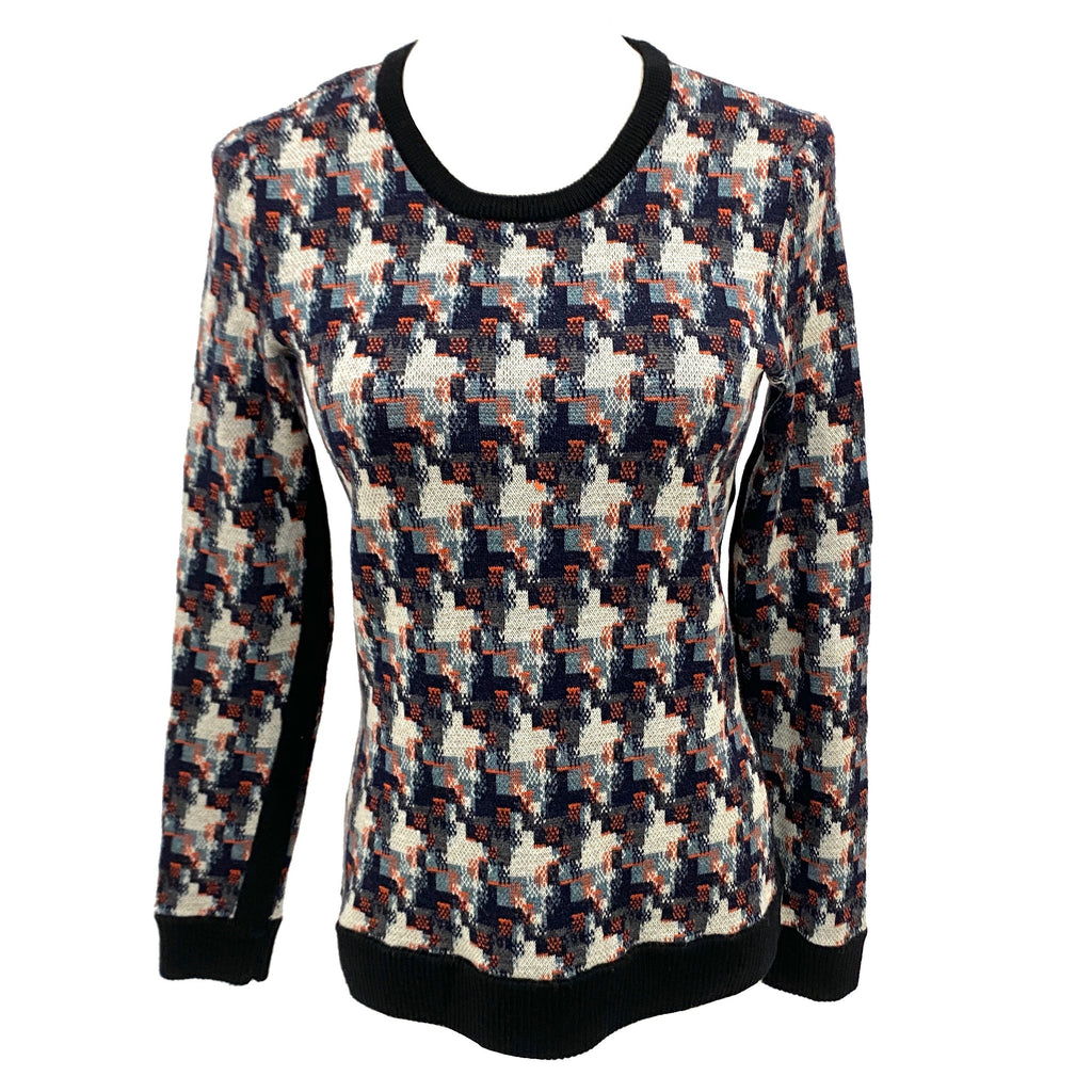 Rag & Bone abstract pattern sweater