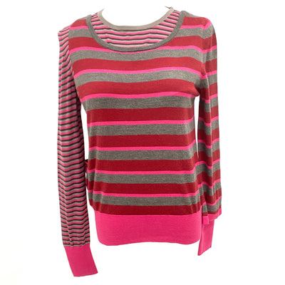 Marc Jacobs pink striped sweater