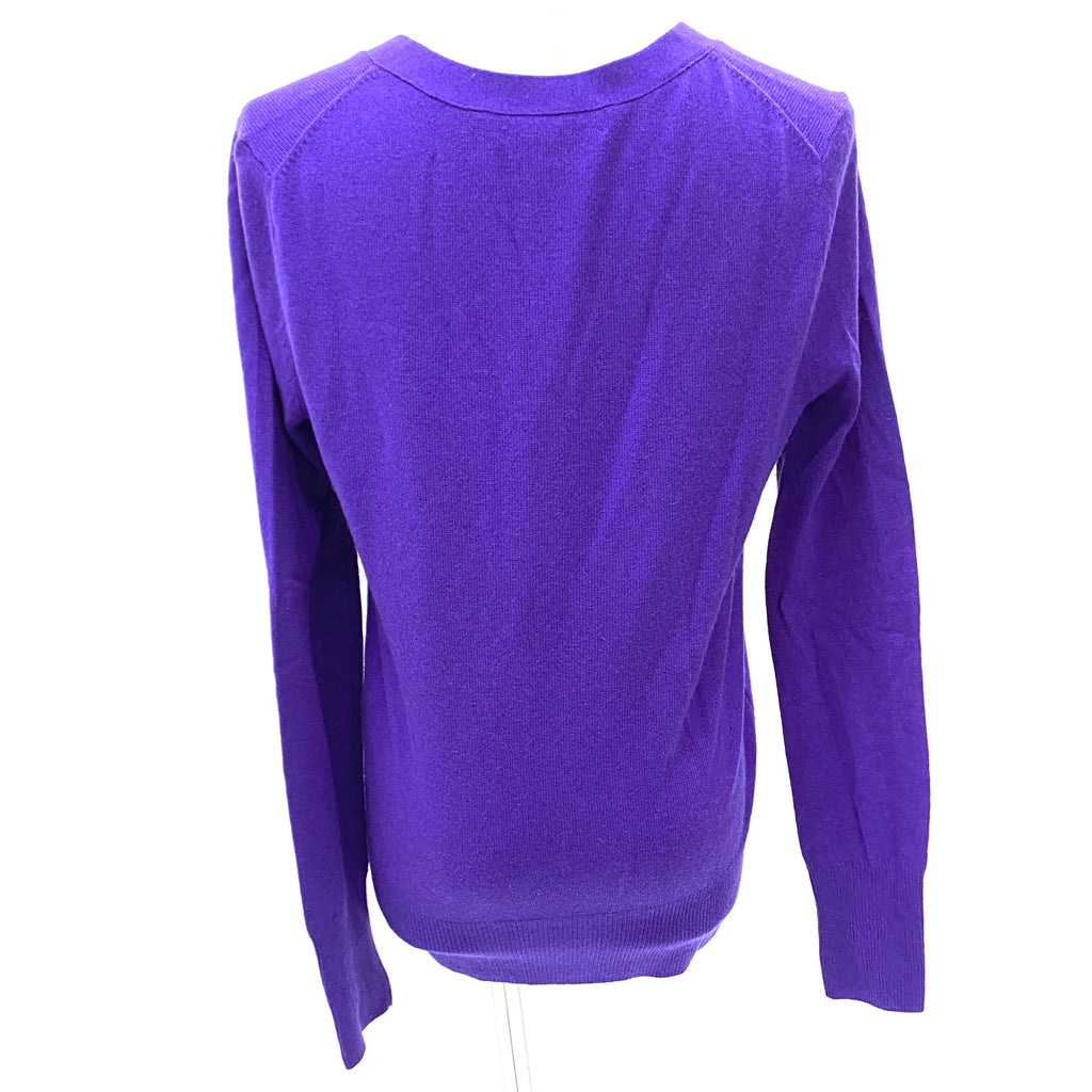 Juicy Couture purple knit cardigan
