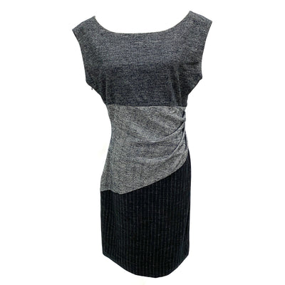 Diane Von Furstenberg DVN grey wool blended dress