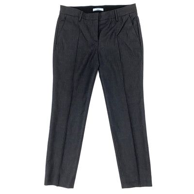 Prada grey virgin wool pants