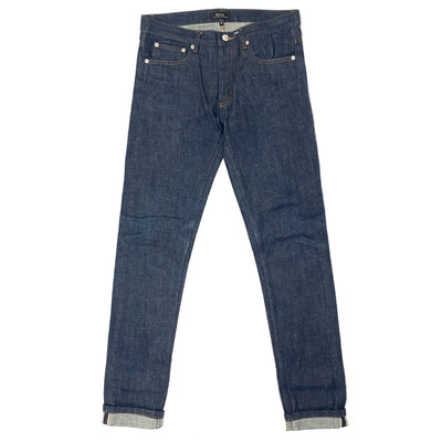 A.P.C Unwashed Jeans