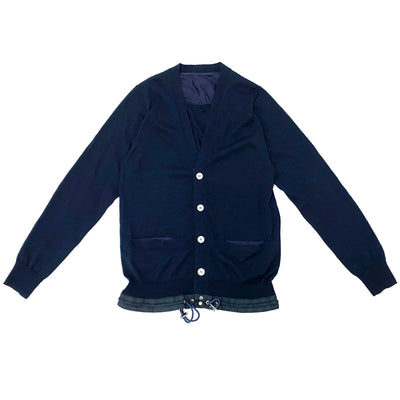 Sacai Cardigan (Navy Color)