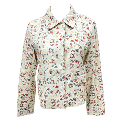 Max & Co. beige colour floral pattern jacket