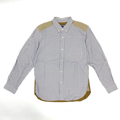Junya Watanabe Check Shirt (Brown Color)