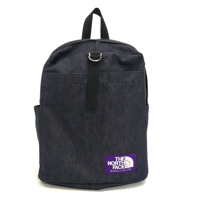 The North Face TNF Purple Label denim backpack