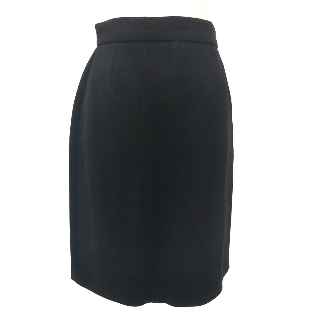 Dolce & Gabbana D&G Black wool skirt