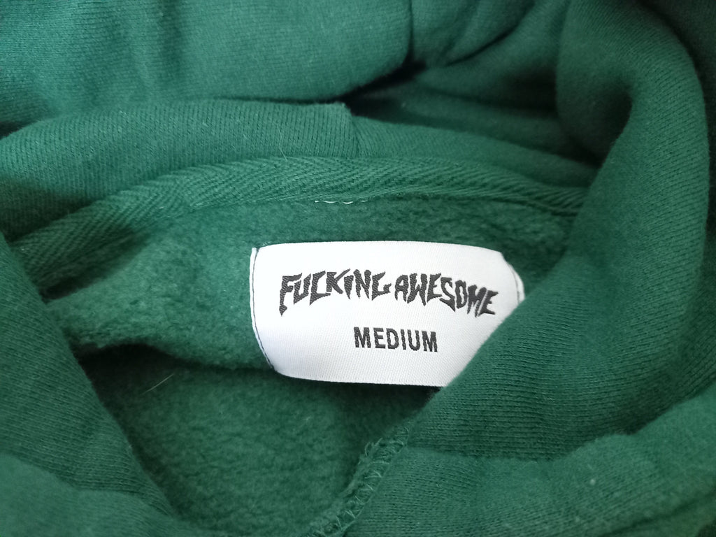 Fucking Awesome Green Hoodie
