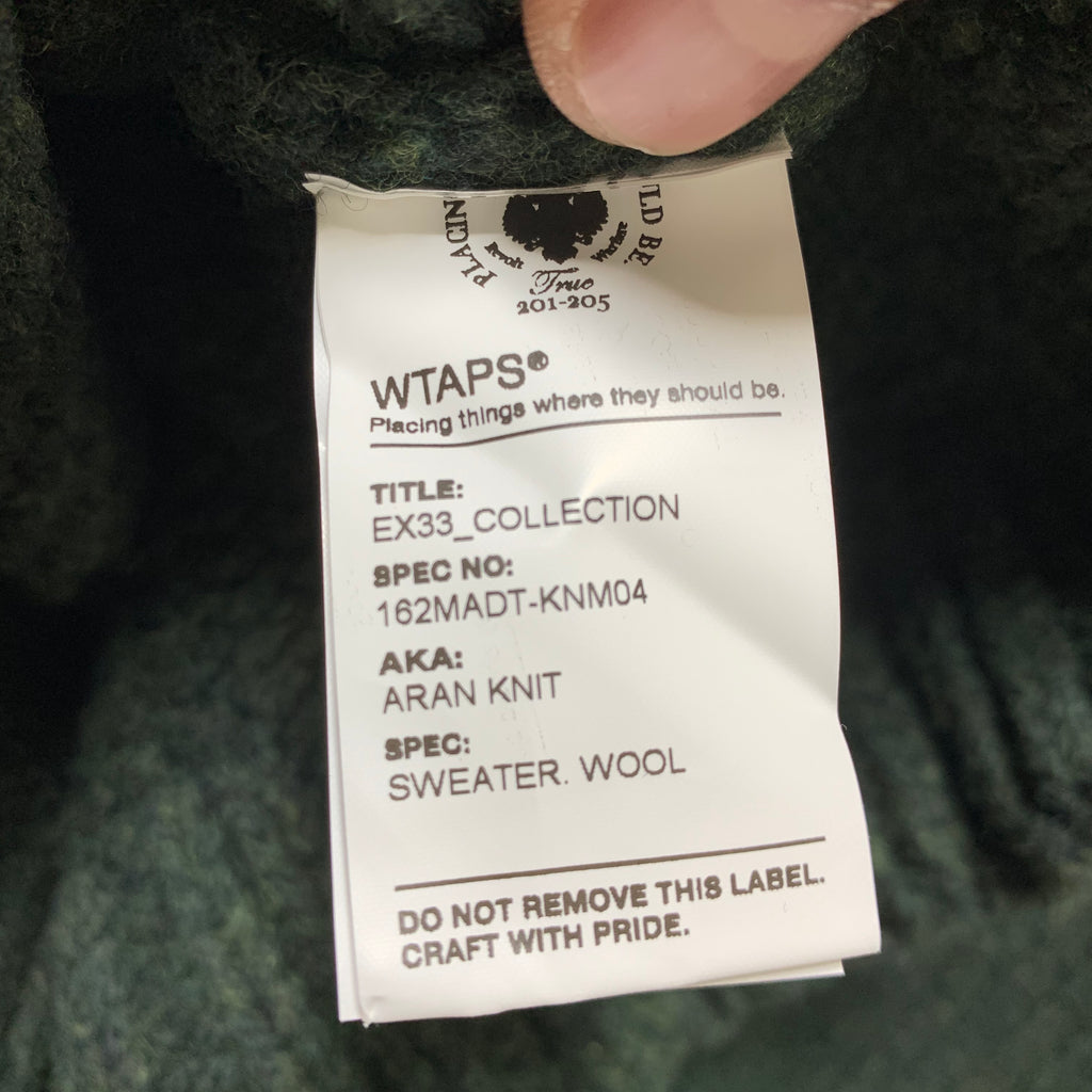 Wtaps EX33 Collection Aran Knit Sweater