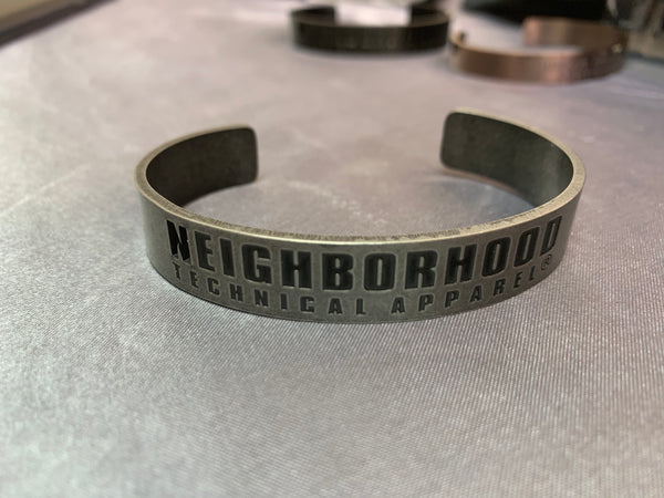 Neighborhood x Fragment design Bracelet (sliver)