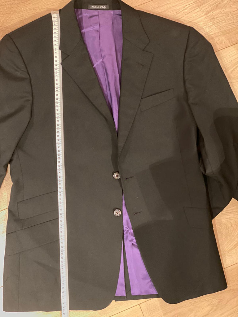 Paul Smith The Byard black wool suit