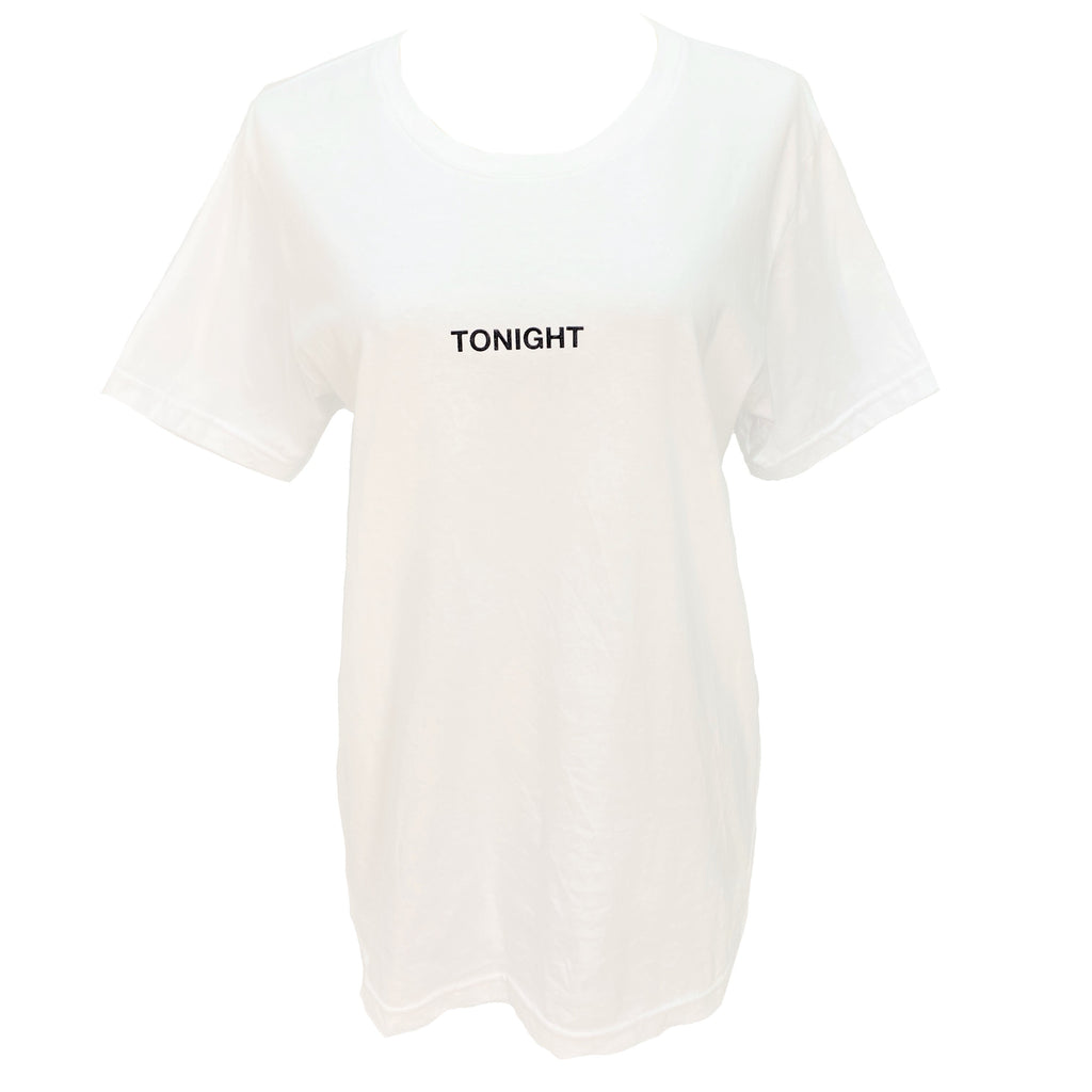 Misbhv Tonight white tee