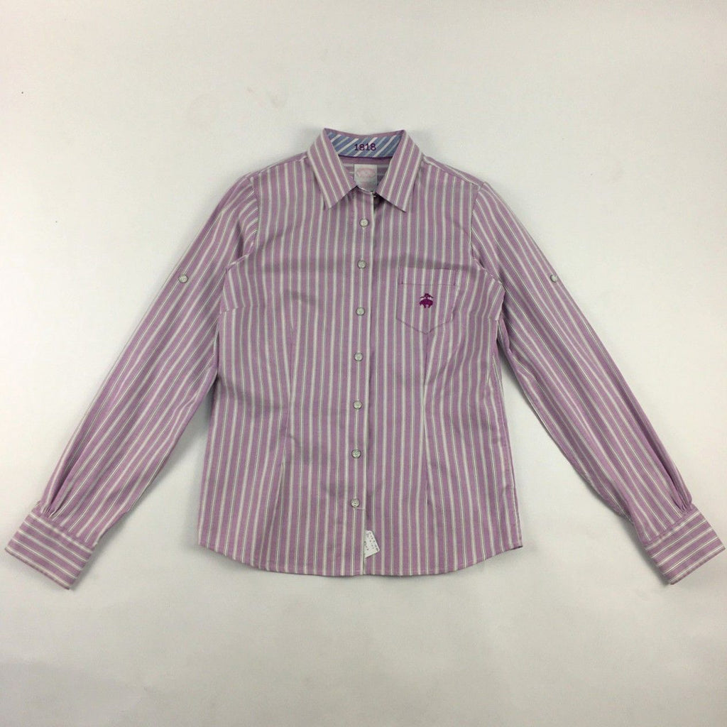 Brooks Brothers purple shirt