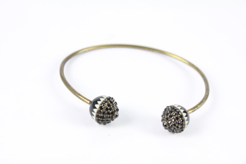 Isabel Marant crystal embellished bangle