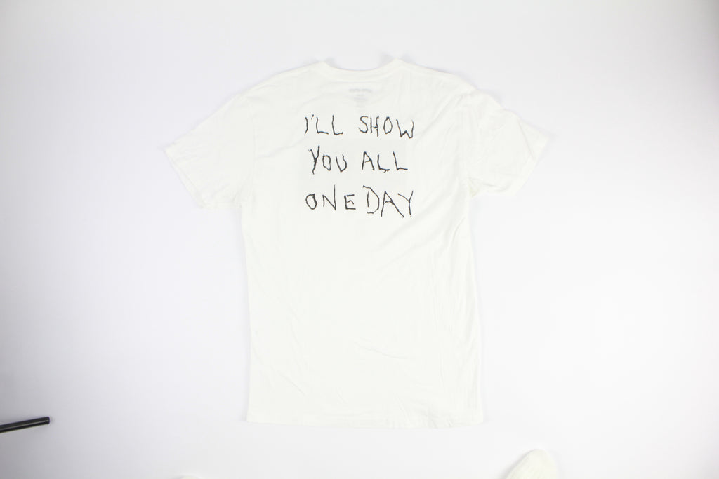 "Fucking Awesome ""I will show you all one day"" (WHITE)"