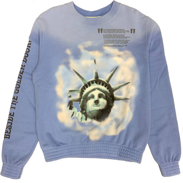 Off White Crewneck (state of liberty)