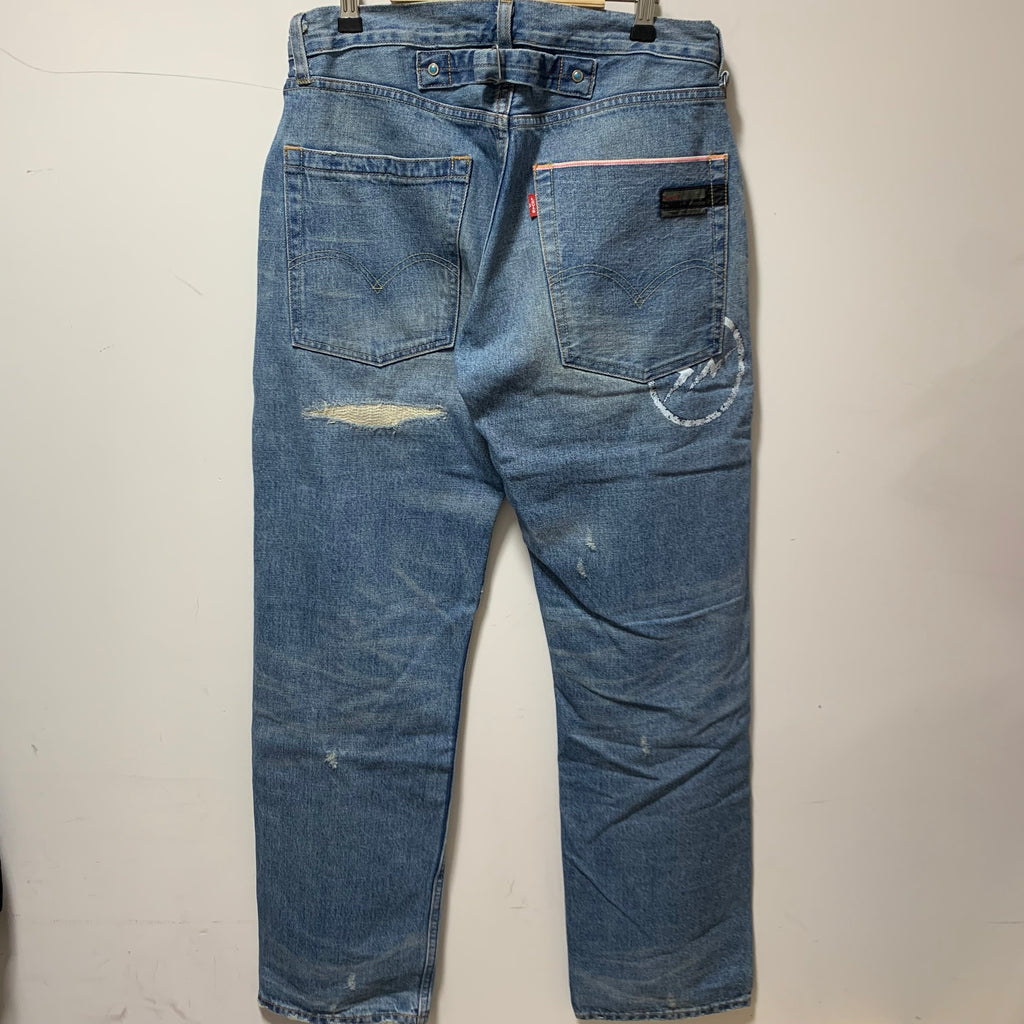 Fragments x Levis Crush 9 Jeans