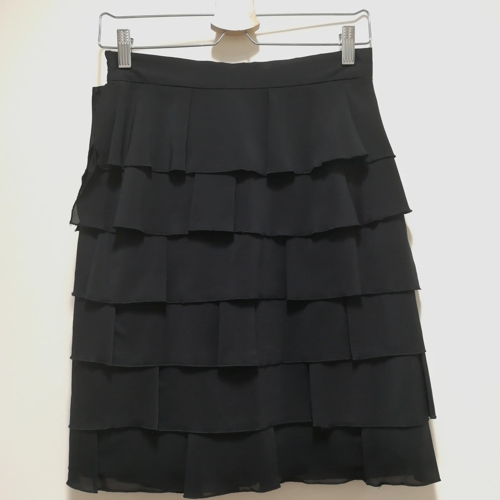 Red Valentino ruffle skirt