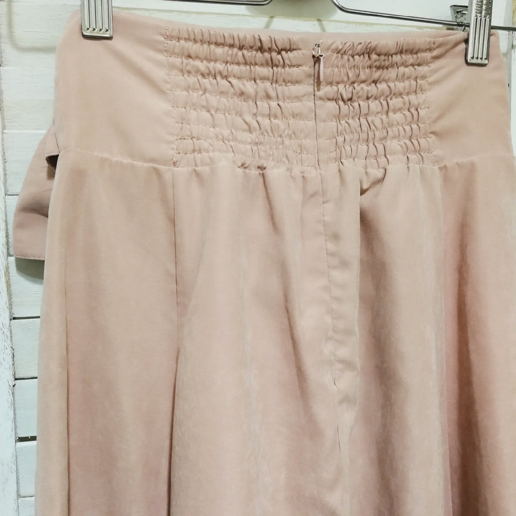 Titty & Co. pink flare skirt